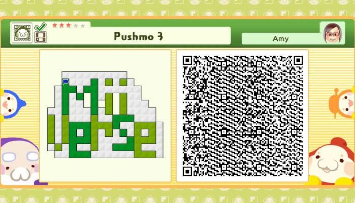 Camp Miiverse: Third Challenge, Pushmo and Pushmo World