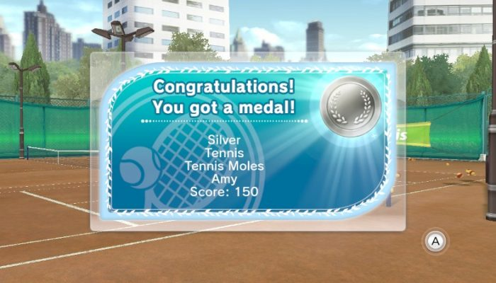 Camp Miiverse: Fifth Challenge, Wii Sports Club Tennis