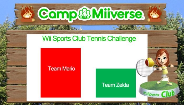Camp Miiverse: Team Mario obliterates Team Zelda in fifth challenge