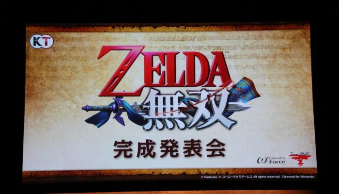 Hyrule Warriors – Pictures of the Japanese Event