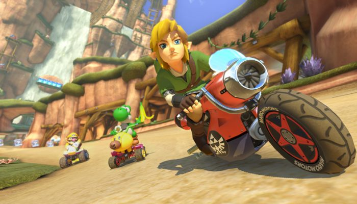 NoE: 'Mario Kart 8 AOC packs to add 16 new courses, plus new drivers and karts'