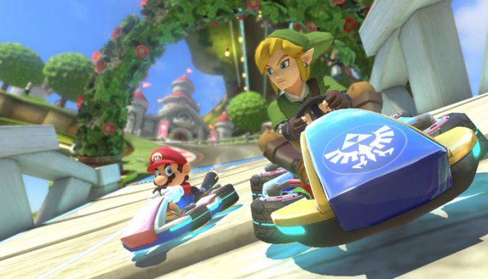 The Legend of Zelda X Mario Kart 8