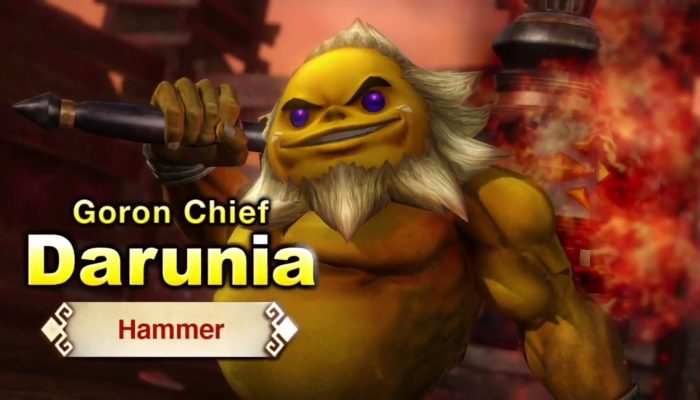 Hyrule Warriors – English Trailer with Darunia and a Hammer