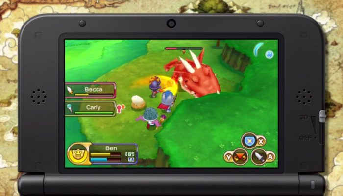 Fantasy Life – Multiplayer Trailer