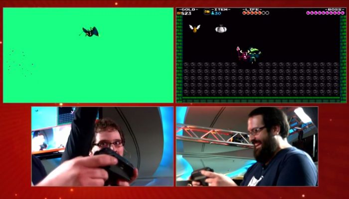 Nintendo Challenge: Live at SDCC – Shovel Knight Speed Run