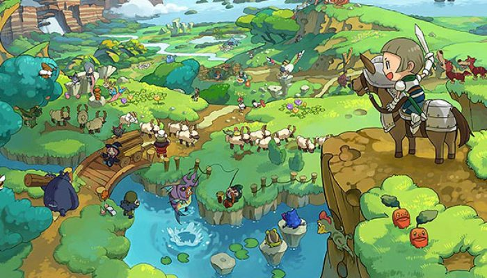NoE: 'Link up with fellow adventurers in Fantasy Life – coming to Nintendo 3DS on 26th September'