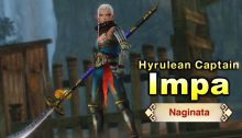 Hyrule Warriors - English Trailer with Impa and a Naginata - NintendObserver
