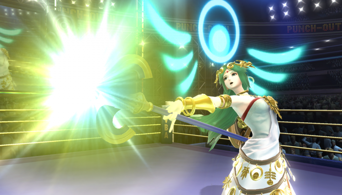 Super Smash Bros. – Character Screenshots: Palutena