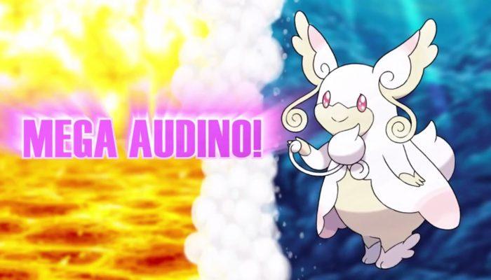 Pokémon ORAS – Meet Mega Audino Trailer
