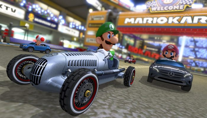 Mario Kart 8 update coming with free Mercedes-Benz DLC on August 27