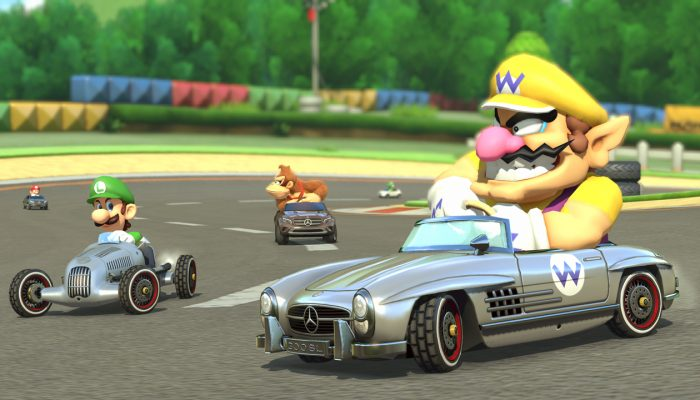 Don't miss the Mercedes Cup in Mario Kart 8!