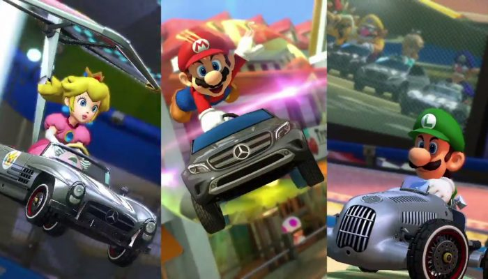 Mario Kart 8 – Mercedes Benz Collaboration Trailer