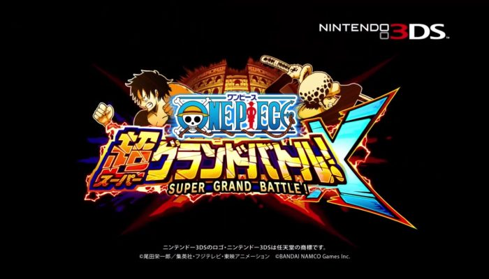 One Piece Super Grand Battle X – Japanese Debut Trailer