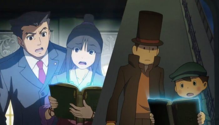 Professor Layton vs. Phoenix Wright: Ace Attorney – Launch Trailer