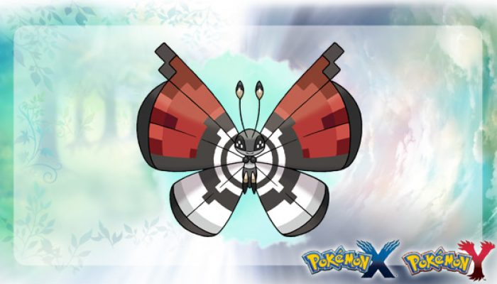 Pokémon: 'Poké Ball Pattern Vivillon Takes Flight!'