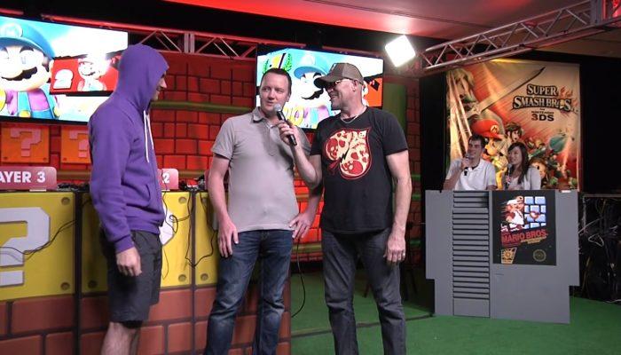 Nintendo Challenge: Live at SDCC – Super Smash Bros. for Wii U – Bill vs. Scar