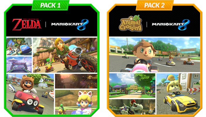 NoA: 'Massive Mario Kart 8 DLC Packs Add 16 New Courses, Plus New Drivers And Karts'