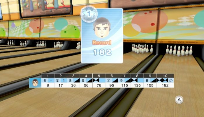 Camp Miiverse: 10th Challenge, Wii Sports Club Bowling