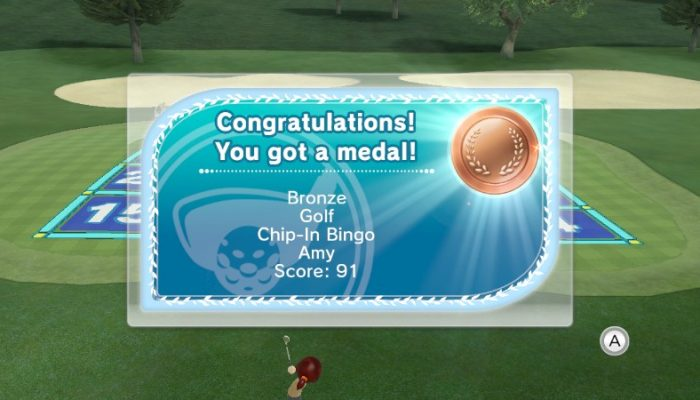 Camp Miiverse: 14th Challenge, Wii Sports Club Golf