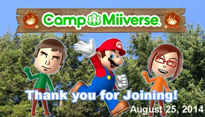 Camp Miiverse: Closing thoughts from camp instructors Tom and Amy