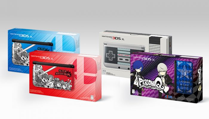 NoA: 'Nintendo announces three colorful new looks for Nintendo 3DS XL'