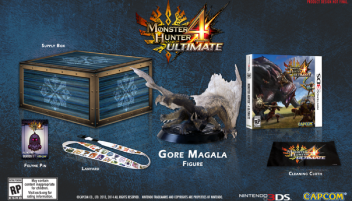 Capcom: 'Monster Hunter 4 Ultimate Collector's Edition revealed for North America'