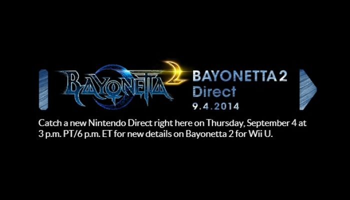 Bayonetta 2 Direct set for September 4 at 3 PM Pacific