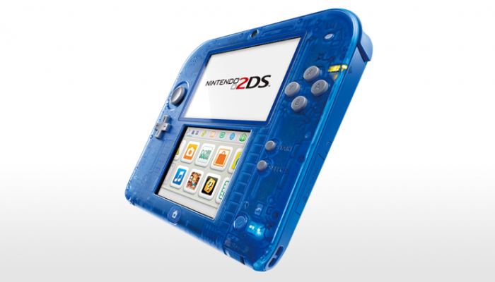 NoE: 'Nintendo 2DS Transparent Red and Nintendo 2DS Transparent Blue releasing on 7th November'