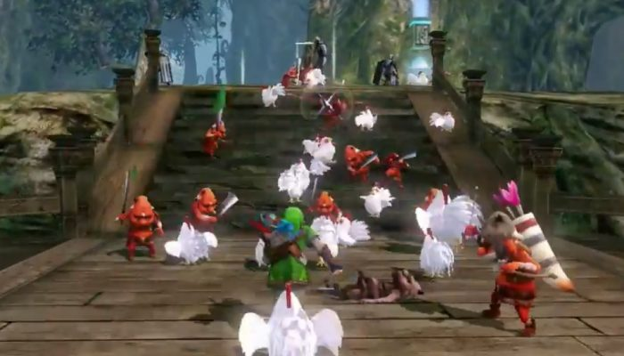 Hyrule Warriors – Cucco Trailer