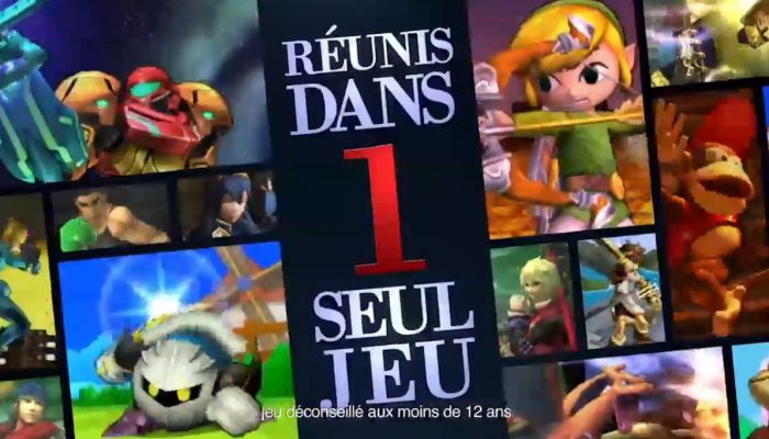 Super Smash Bros. for Nintendo 3DS – Pub Plus de 40 personnages réunis
