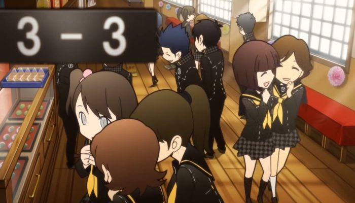 Persona Q: Shadow of the Labyrinth – P4 Story Trailer