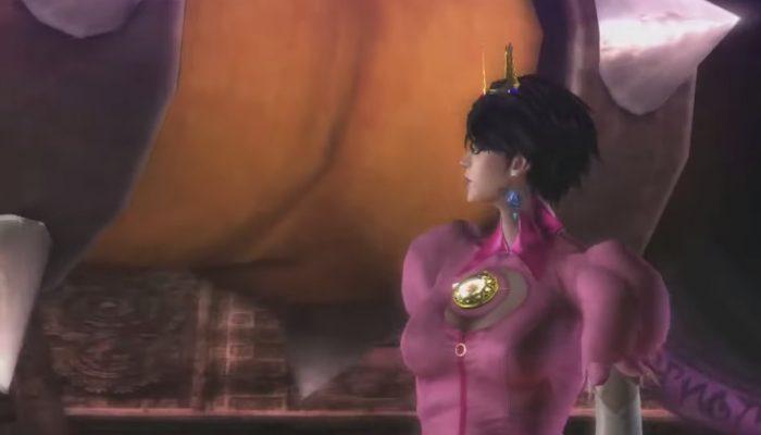 """Bayonetta 2 – Bande-annonce Costume """"princesse du Royaume Champignon"""""""