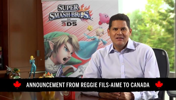 Nintendo of Canada – Reggie's Announcement of Canada's Super Smash Club