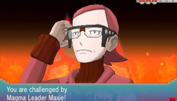 Pokémon ORAS – Team Magma Leader Maxie