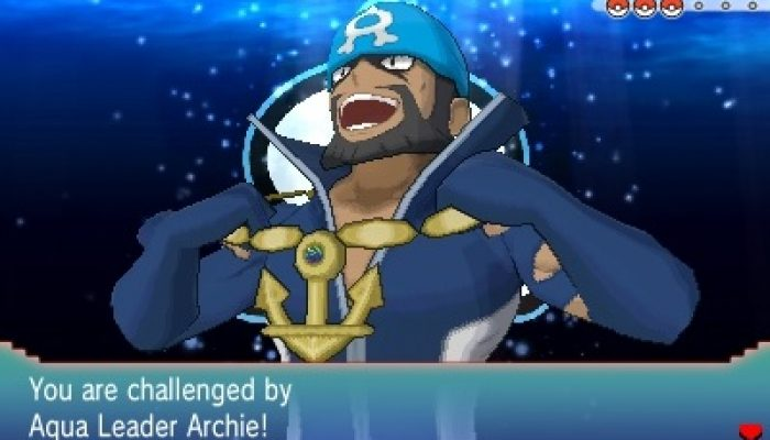 Pokémon ORAS – Team Aqua Leader Archie