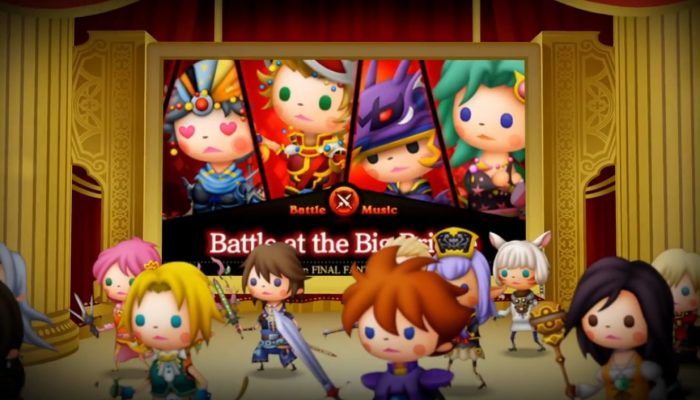 Theatrhythm Final Fantasy Curtain Call – Bande-annonce de lancement