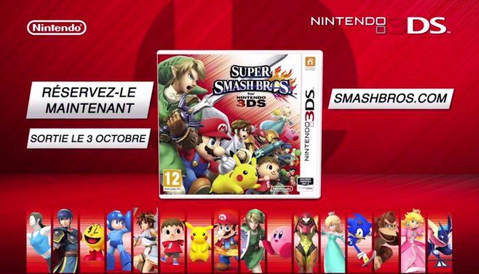 Super Smash Bros. for Nintendo 3DS – Première pub française