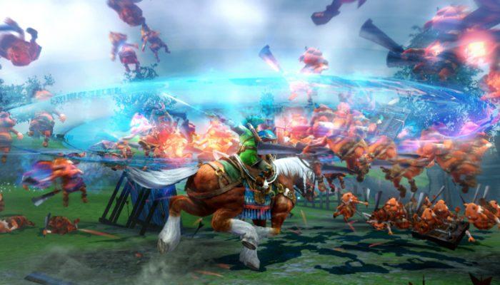 New Hyrule Warriors Epona screenshot from Aonuma on Miiverse!!