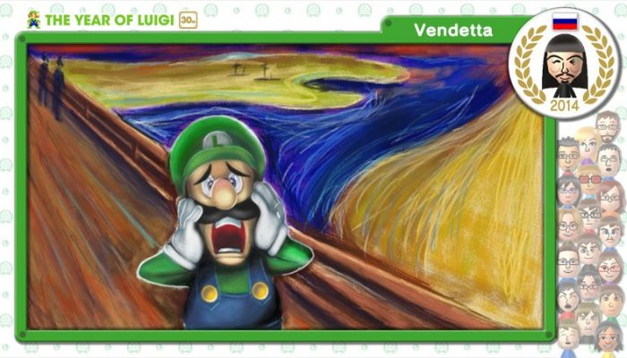 Play Nintendo: The Year of Luigi by Art Academy SketchPad