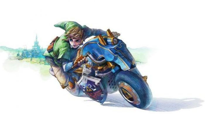 A Bike for Link in Mario Kart 8