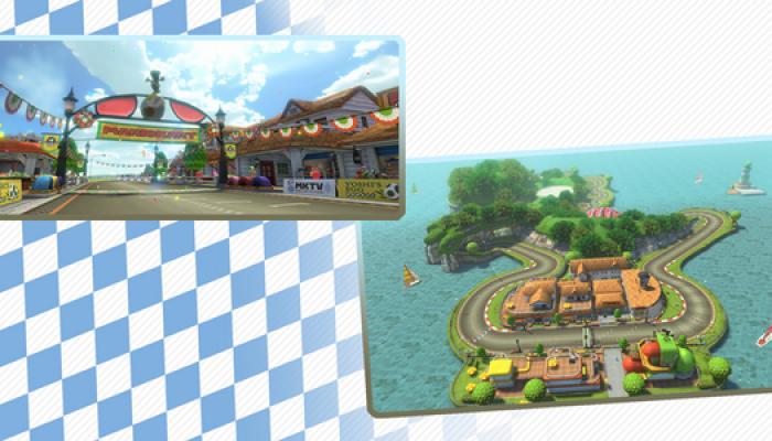 Yoshi Circuit and the Tanooki Kart