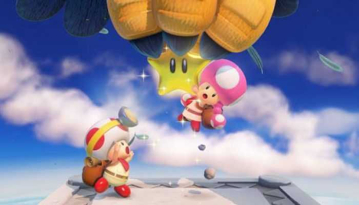 NoA: 'Toadette's Ready For Adventure In Captain Toad: Treasure Tracker For Wii U'