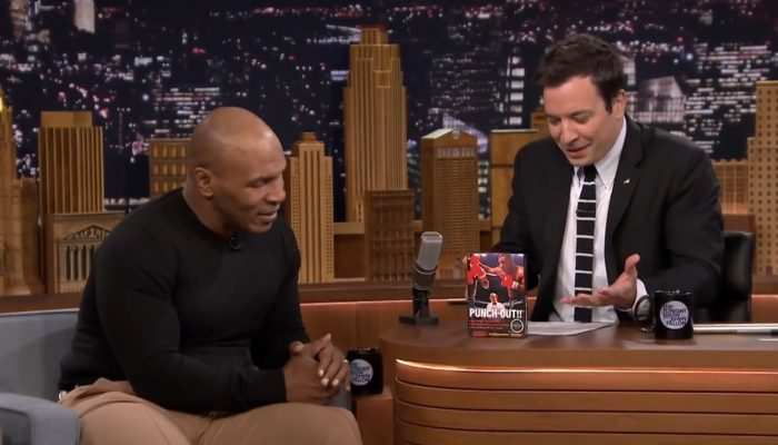 Mike Tyson Tries to Beat Himself in Punch-Out!! with Jimmy Fallon
