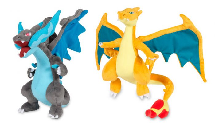 NoA: 'Get a free Charizard X or Charizard Y plush toy'