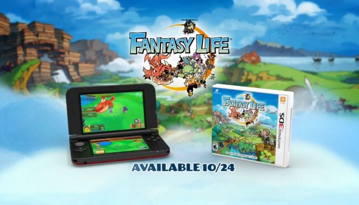 Fantasy Life – TV Commercial