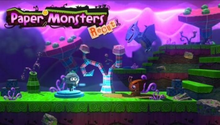 Paper Monsters Recut launching October 16 on Wii U