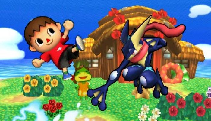 NoE: 'In shops and on Nintendo eShop now: Super Smash Bros. for Nintendo 3DS