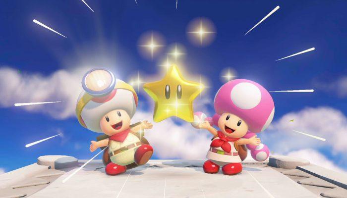 Captain Toad : Treasure Tracker – Bande-annonce Toad ne sera pas seul pour chercher des trésors !