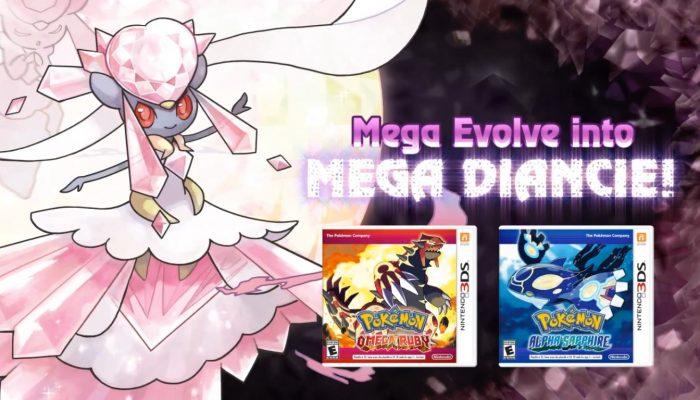 Pokémon ORAS – Get Diancie for Pokémon X and Pokémon Y! Trailer