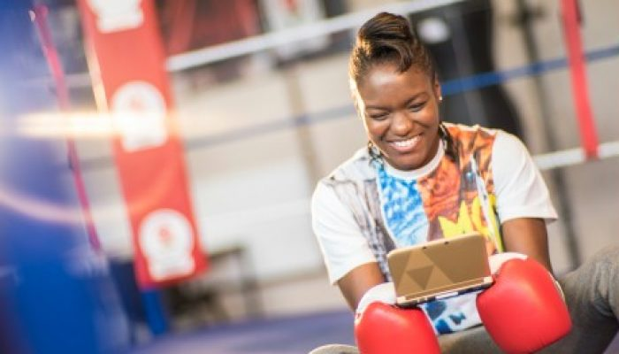 Nintendo UK: 'Super Smash Bros. for Nintendo 3DS – Nicola Adams swings in!'